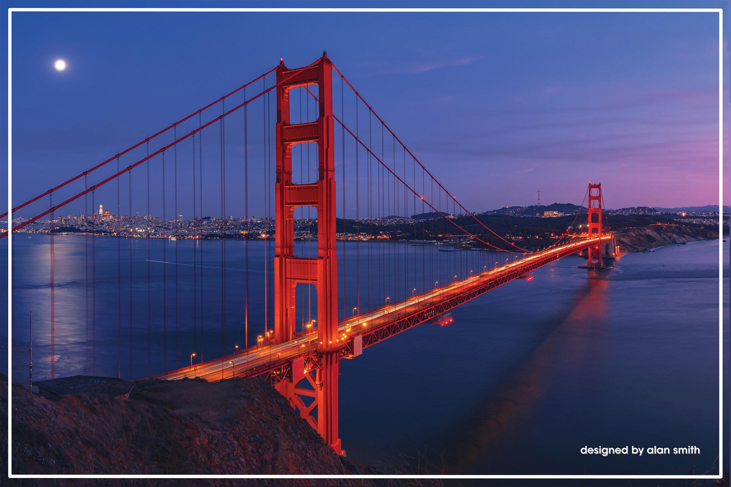 California Blue designed by Alan Smith