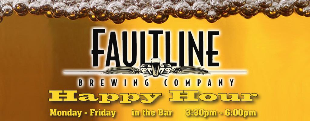 Faultline Brewing Company website image